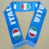 polyester printing football fan scarf