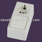 W9019-5 KEMA wall switch and socket