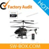 New Micro Helicopter - iPhone iPad iPod Touch Android Phone Remote Controlled Camera Helicopter - Black