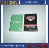 high quality of casino gambling adult playing cards with custom
