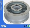 outdoor IP67 9W led underwater light for fountains(CE/ROHS)