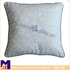 elegant lace soft home decorate embroidery cushion