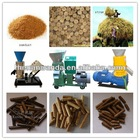 CE approved small flat die wood pellet mill with discount