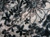 printed lace fabric with bubble