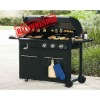 Hotting Selling charcoal grill+gas grill