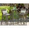 poly rattan patio furniture--AWRF5662-outdoor 2012-Bar set