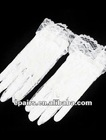 G04 Lace Fingertips Wrist Length Flower Girl Gloves