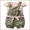 Beautiful and Cute Skirt Baby Girls Cotton Outfit