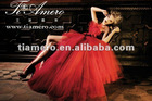 2012 Latest Fashion Off-Shoulder Evening Dress TW-1805