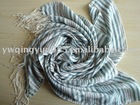 Striped Graphic Polyester Women Scarf