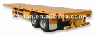 Two Axle 40ft flat bed semi-trailers
