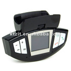 """Cheap Steering Wheel Mount 1.4"""" LCD Bluetooth Car Handsfree Kit With FM Transmitter/MP3 Player"""