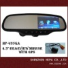 4.3 inch bluetooth rearview