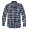 men fashion designer plain cotton shirts with long sleeve