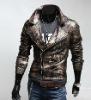 popular leather fashion jacket for men