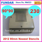 2012 May latest released 230pcs 90mm Bga Stencil