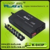 100W car power adapter for laptop
