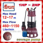 CS2.110S (1.5HP) sump pump for sewage water