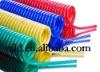Polyurethane pneumatic spiral ciol hose