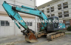 90% new USED big green hydraulic excavator