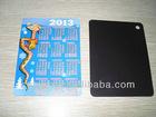 2012 new promotional calendar fridge magnet