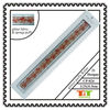 FLOWER STUDENT GLITTER SPONGE RULER PUFFY