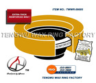 Urethane extra-thick reinforced wax bowl toilet ring gasket