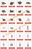 well carburetor parts in china
