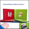 china professional 12x12 fabric scrapbook