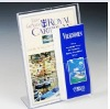 "Acrylic Sign Frame with 4"" Brochure Pocket"