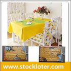 110902 Stock PVC Table Cloth