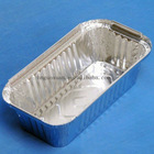 Rectangular tin foil tray