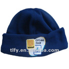 Anti-pilling fleece hat with embroidery