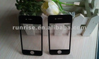 For iPhone 4 Screen Glass Lens Black and White glass lens