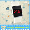 fashion unisex LED silicone wristwatch