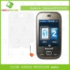 clear mobile screen protector for Samsung B5772 Duos