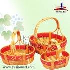 2011 natural handmade wicker shopping basket