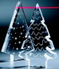 cristal christmas tree