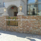 Yellow slate natural cleft culture stone