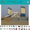 HZS100 fully automatic concrete batching machinery