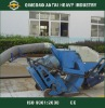 Portable road surface floor shot blasting machine