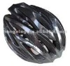 Bicycle helmet cycling helmet in gray and black