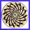 Round Marble Mosaic Pattern Tile