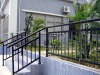 Outdoor Iron stairs handrail