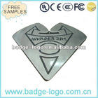 normal metal heart shaped belt buckles