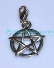 cheap price wholesale silver jewish charm with star shape