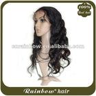 AAAA+ 100% Human Hair Full Lace Wig Malaysian Remy Hair Wig
