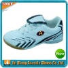 2012 fashion design indoor soccer shoe