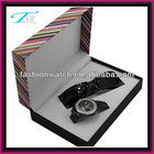 New Style Alloy Strap Stainless Steel Case Back Diamond Master Watch Gift