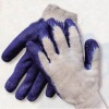 10gauge poly-cotton glove coated with latex